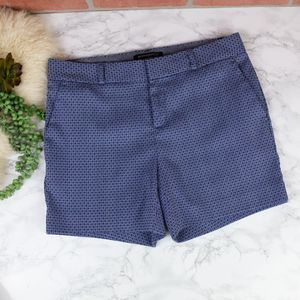 Banana Republic Blue Patterned Shorts 2